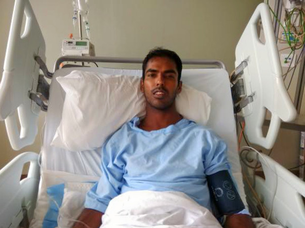 Tinto fights for his life and his only treatment is a liver transplant
