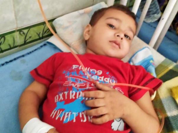 2 Years Old Manas Needs Your Help Fight Acute Lymphoblastic Leukemia