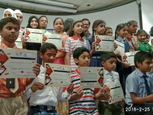 Give wings to underprivileged children for their dream trip to NASA.