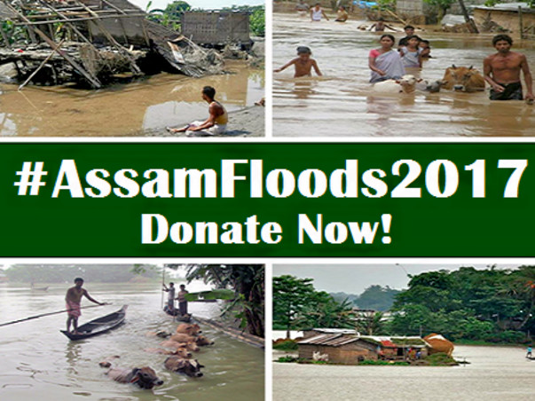 Assam Floods 2017 – Relief Appeal: