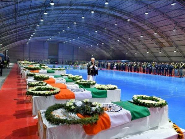 Support Pulwama Brave Martyrs' Families