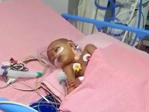 Help Little Nuthana Recover from Severe Pneumonia