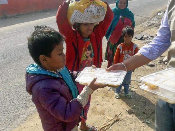 Help Children Getting Food and Education