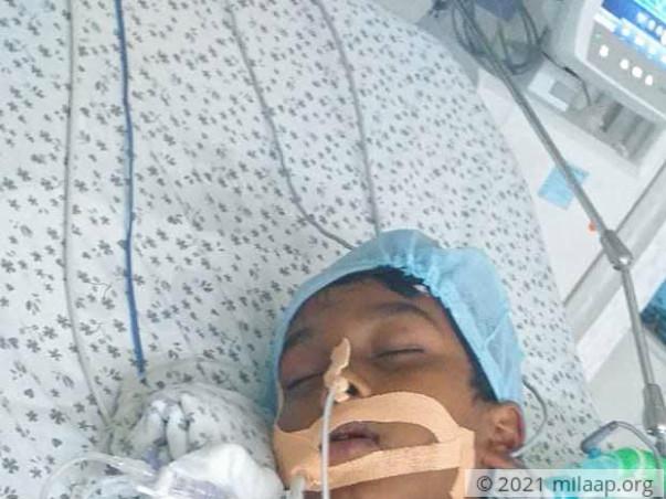 Help Master Ajay Fight Acute Encephalitis
