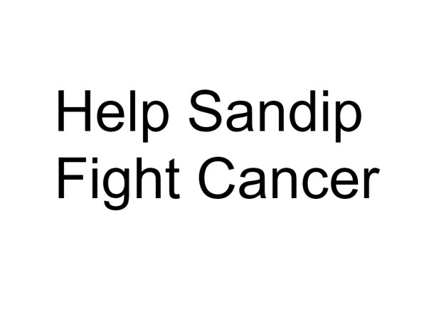 Help Sandip Fight Cancer