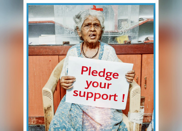 I am fundraising to support Destitute - Elderly_Sick_Disabled.#Pledge_Your_Support.