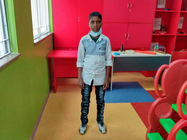 14-year-old Hafi wishes to never visit a hospital again.