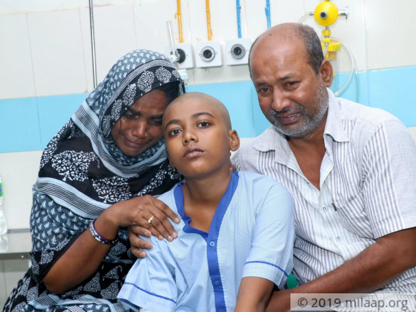 Tailor's 11-Year-Old Is In Excruciating Pain Because Of Deadly Cancer