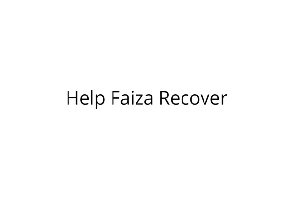 4 month old Faiza Maryam need your help to stay alive...