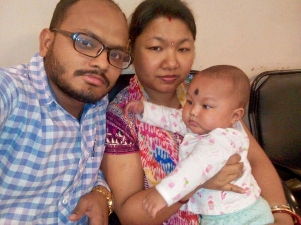 Help this baby who was born without a kidney and a closed food pipe