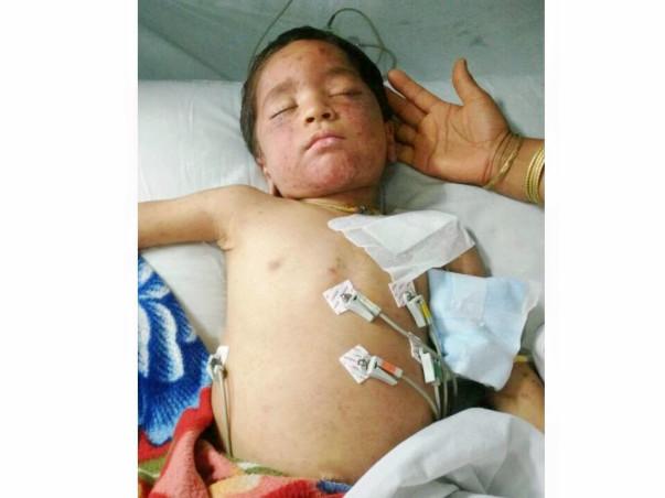 Help 3 year-old Gautam Fight Blood Cancer!