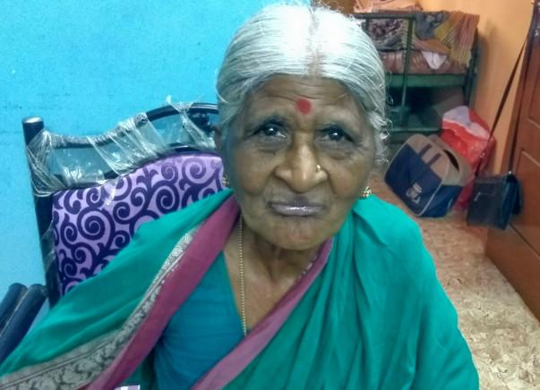 Elderly Woman Needs your Help