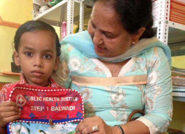 "Sponsor a ""Back to School"" Bag for Step 1 Balwadi Students"