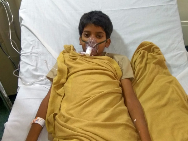 Help 10-year-old Basudev undergo an urgent bone marrow transplant