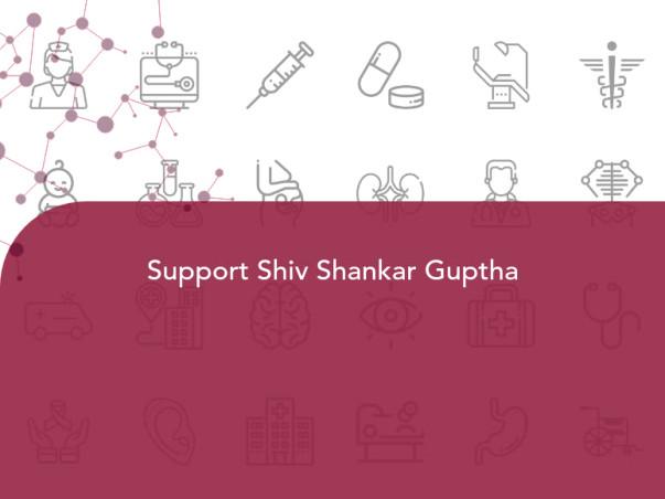 Support Shiv Shankar Guptha