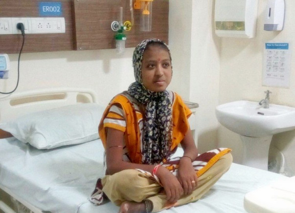 Daughter Of A Farmer Who Committed Suicide Now Has No Aid For Cancer