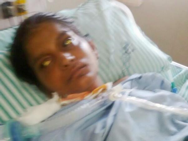 Fighting for life - mother of  a newborn - Mrs Farhana