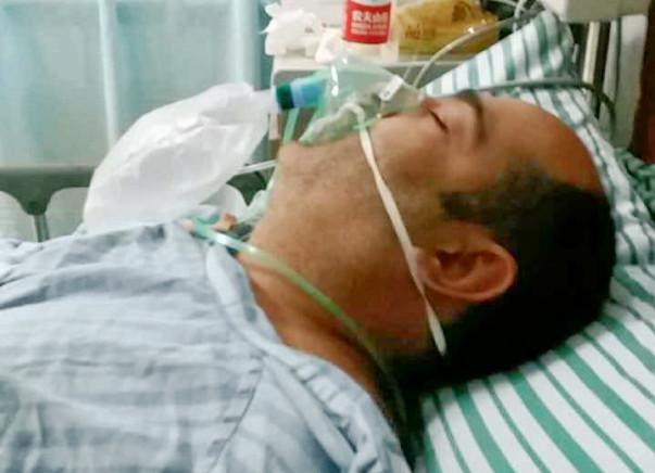 Baljinder Kumar Suffered  Brain Hemorrhage In China