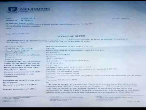 Help Me Study In Melbourne Institute of Technology