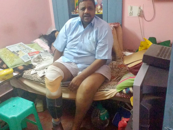 Help This Veteran Bengaluru Powerlifter Walk Again
