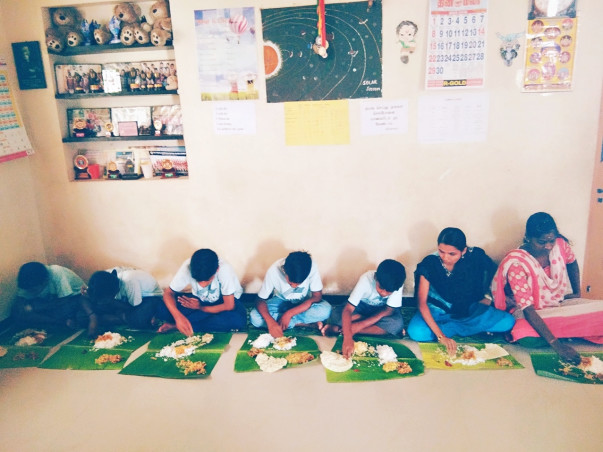 Help to feed others and to educate