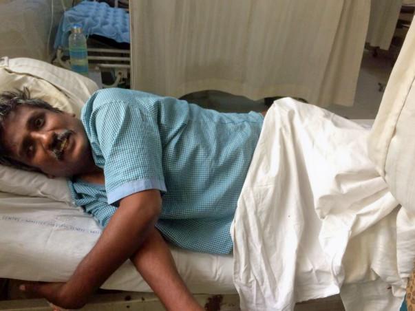 Please consider helping Manjunath!