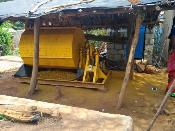 Help Paderu Tribal farmers to boil and polish turmeric