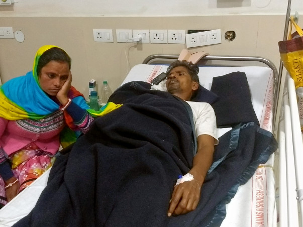 Support Rishipal To get Back On His Feet