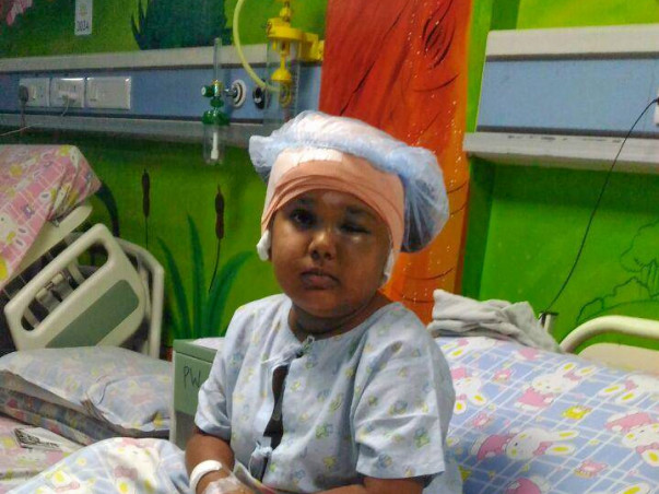 Help Thamarai with Brain tumor