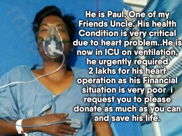 Help My Uncle, N.Paul, Fight For His Life
