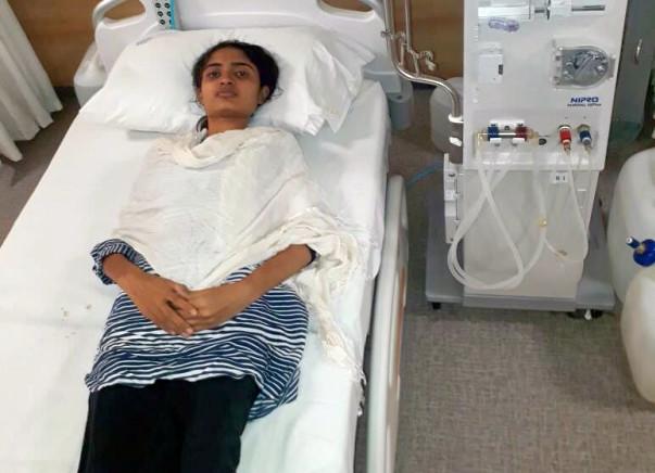 19-year-old Nikita needs our help to undergo kidney transplant