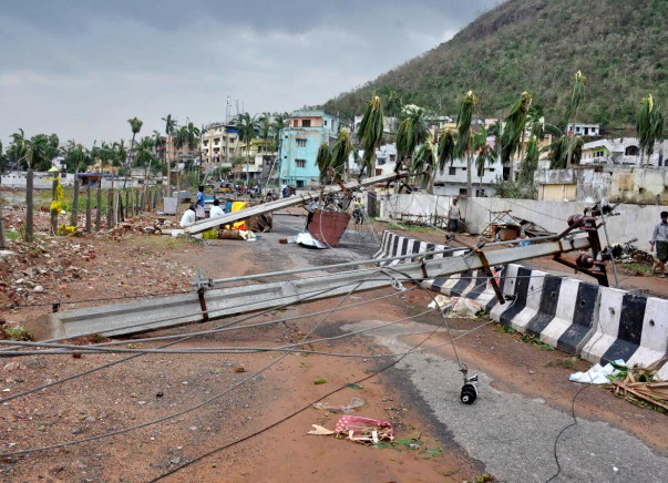 I am raising this fund to help the victims of cyclone Hudhud. Let's bring the affected cities back on their feet!
