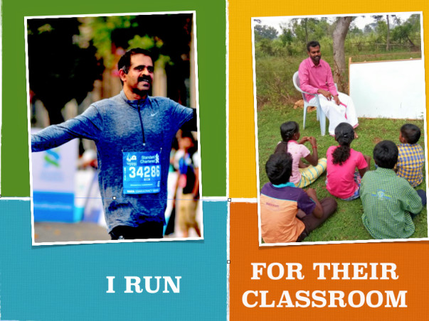 A Run for building Classroom !