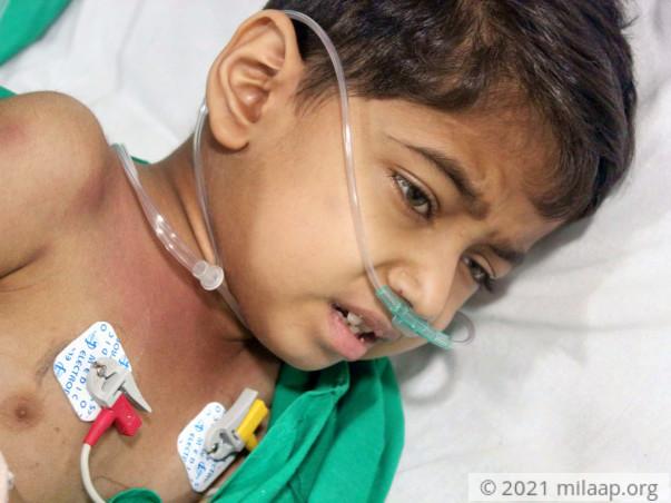 Help Aadesh Fight Severe Aplastic Anemia