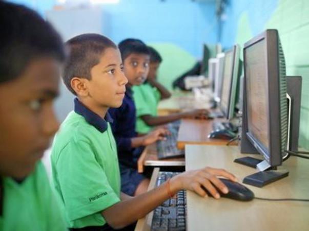 Help Parikrma children improve their computer science study