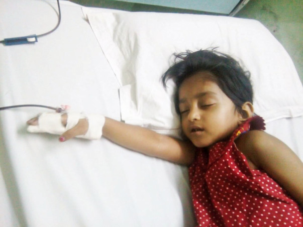Help Little Bristi To Fight Thalassemia