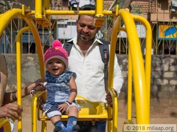 Help 9-Month-Old Baby Aditi Mukesh Undergo An Open Heart Surgery