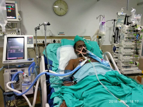 Help us fund Anandkumar's treatment for a critical illness