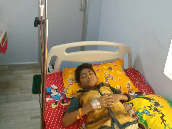 This Boy's Only Wish Is To Stay Alive, But His Father Can't Save Him