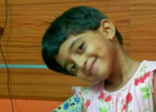 Help Five-Year-Old Charvi Fight a Rare Blood Disease