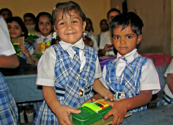 Give Education Materials To Girls Child in India !!