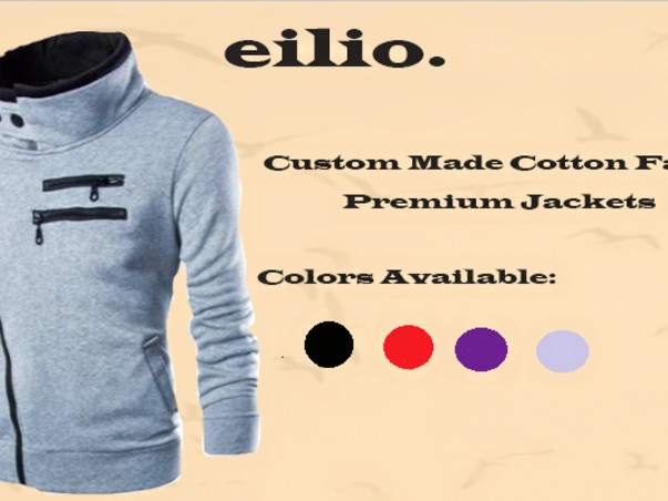 Premium Made Cotton Fabric Jackets - Eilio