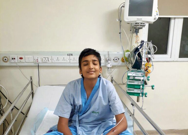 Help My 14 Year Old Son For A Heart Transplant