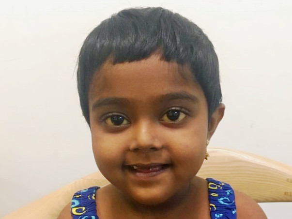 Help 6-Year-Old Akhina To Undergo A Liver Transplant