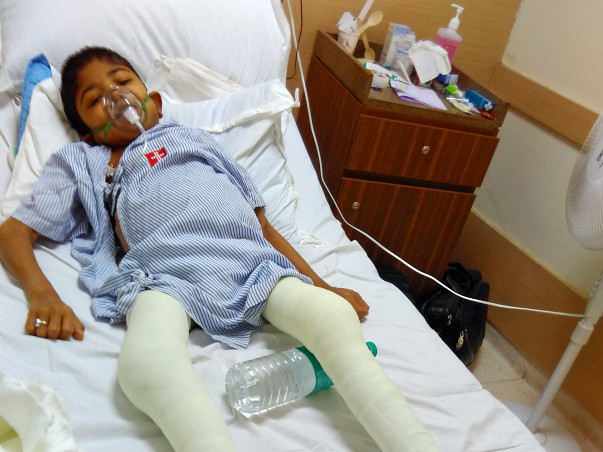 "MIRACULOUS BOY ""OMKAR"" - Who Is Fighting With Life And Death"
