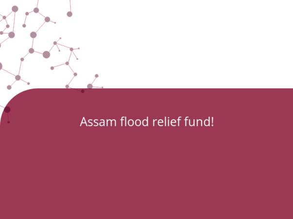 Assam flood relief fund!