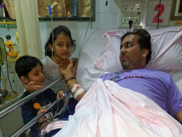 This Father of Two Will Lose His Limbs If Not Treated Urgently