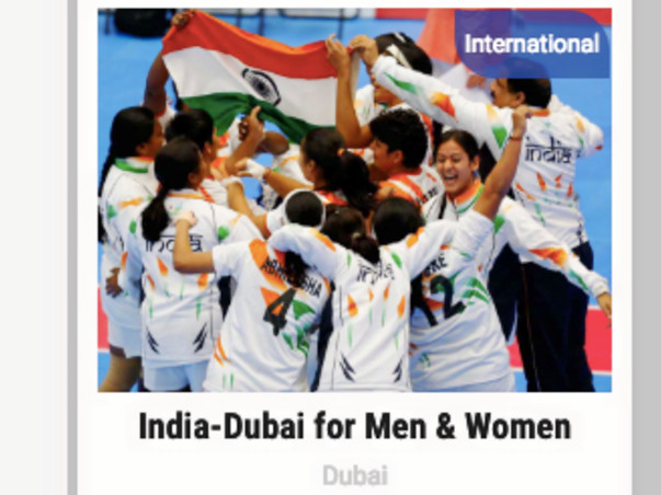 Support Women's Team For The Throwball Championship In Dubai