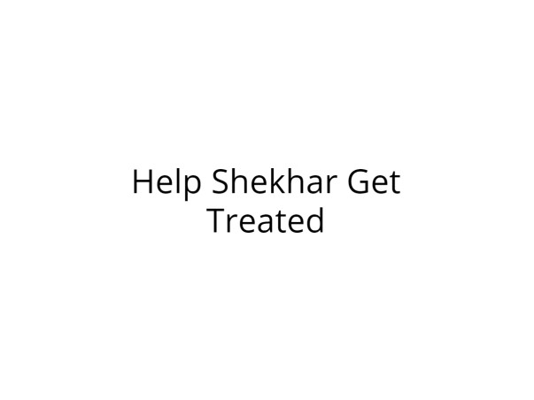 Help Shekhar Get Treated for Severe Head Injury