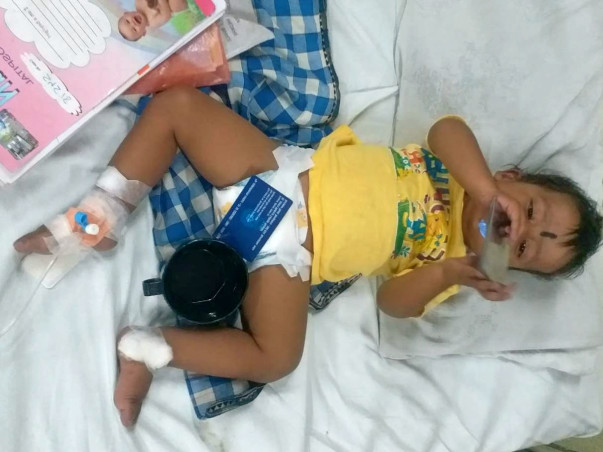 Help 14 Month old Baby Viswajit To Overcome His Heart Surgery